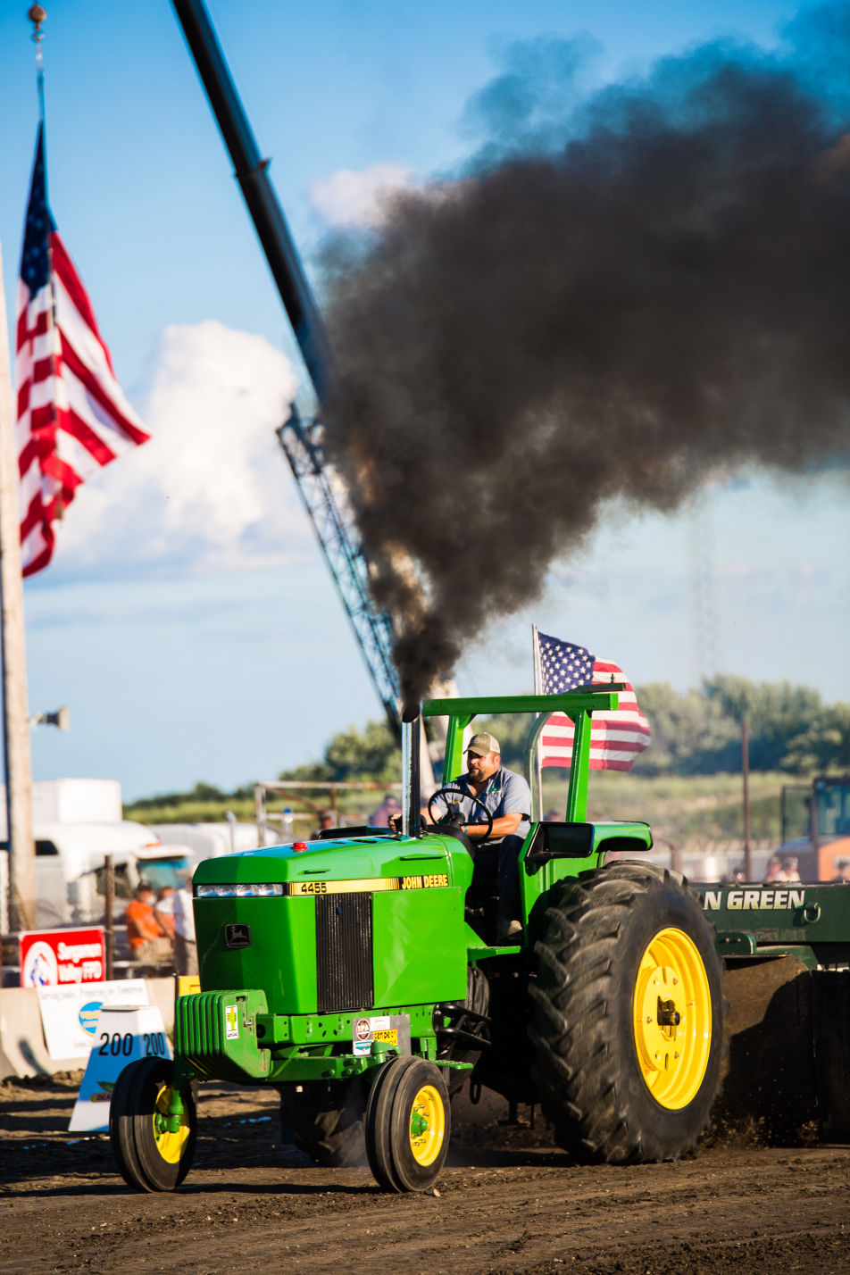 Fisher Fair Tractor Pulls