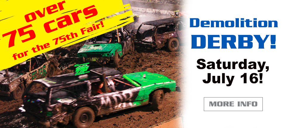 Demolition Derby July 16, 2016