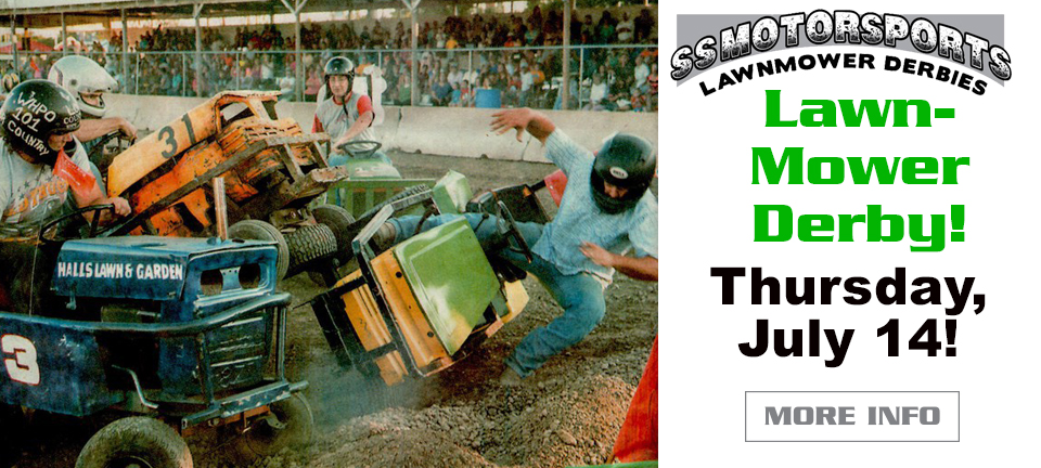 Lawnmower Derby July 14, 2016