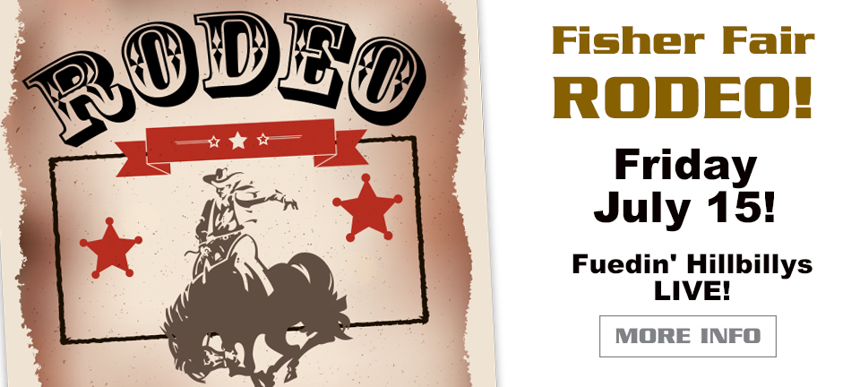 Fisher Fair Rodeo July 15, 2016